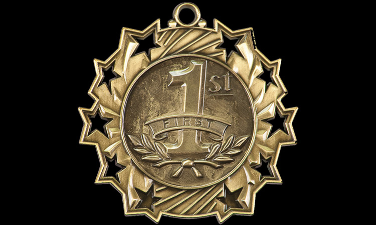 photo of a medal