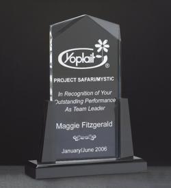 Spire Clear Acrylic Award