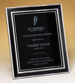 Aluminum Frame Plaque