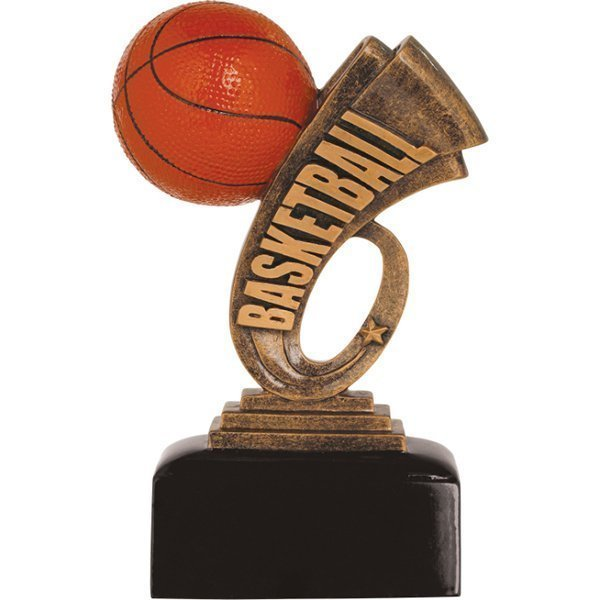6 inch Basketball Headline Resin