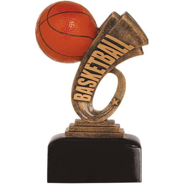 7 inch Basketball Headline Resin