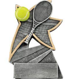 5 1/2 inch Tennis Jazz Star Resin