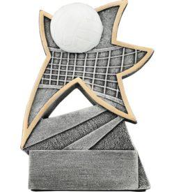 5 1/2 inch Volleyball Jazz Star Resin