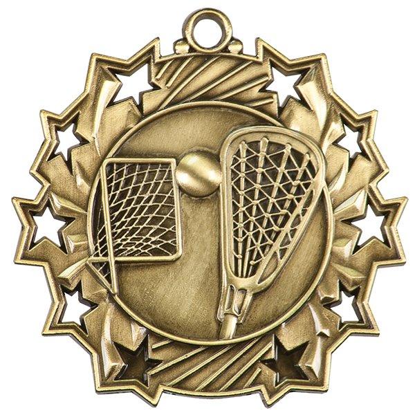 2 1/4 inch LaCrosse Ten Star Medal