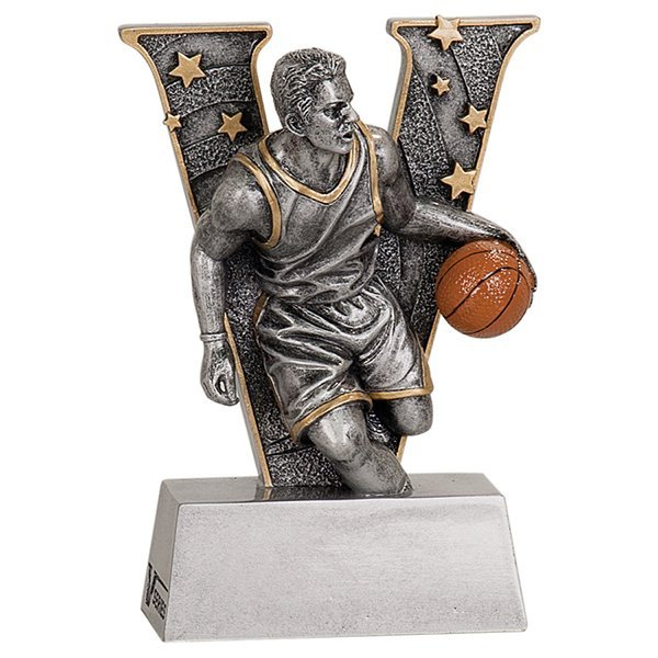 5 inch Male Basketball V Series Resin