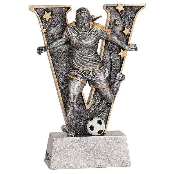 6 inch Female Soccer V Series Resin