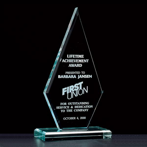 Elite Diamond Acrylic Award