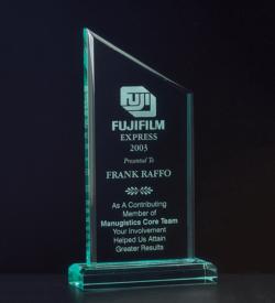 Zenith Acrylic Award on Acrylic Base
