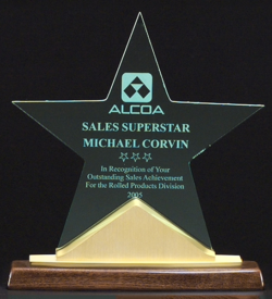 Constellation Star Acrylic Award