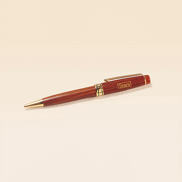 Rosewood Finish Wooden Pen